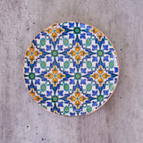 ottoman design, ceramic side plates , dessert plates entertaining