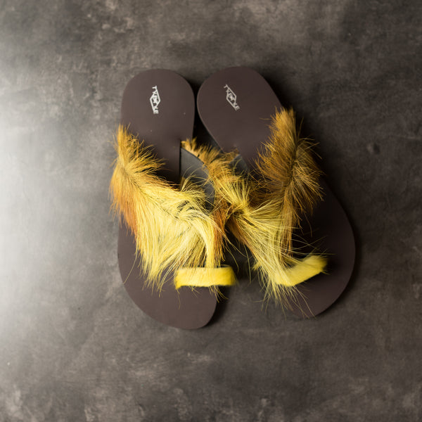 Furry Sandals