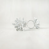 Chrysanthemum  Napkin Rings (set of 4)