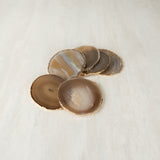 Taupe Agate Coaster (6 Pcs/set)