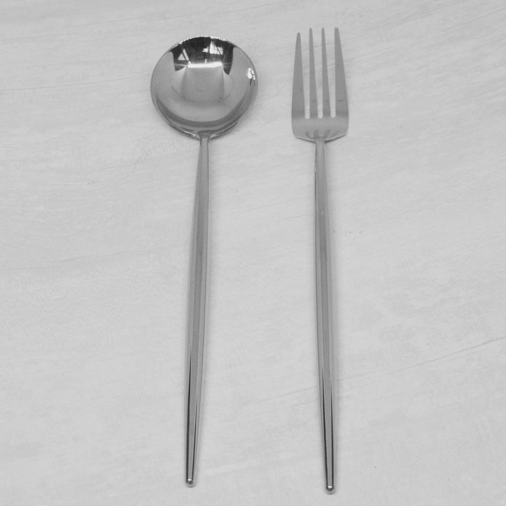 Fusion Stainless Spoon and Fork Set (2pcSet)