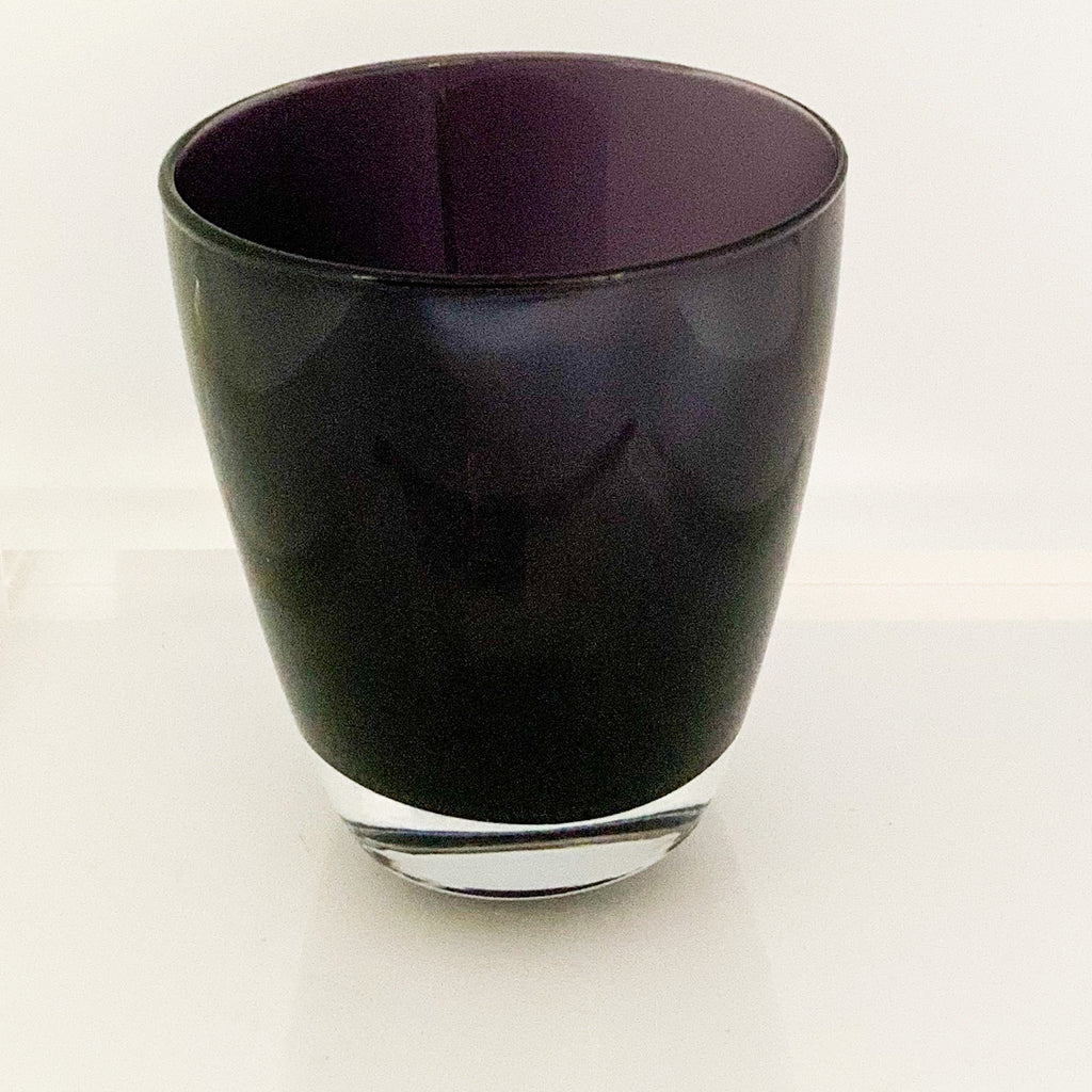 Black  Violet Glasses ( set of 6)