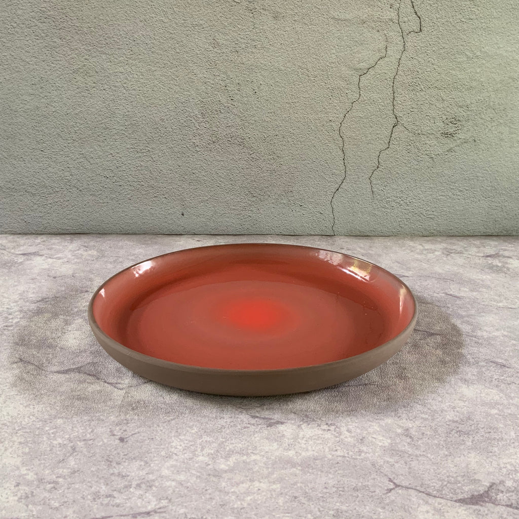 Scarlet Stoneware  Plate