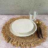 Flor  Dinner and Side  Plates White