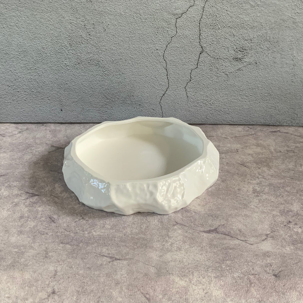 Rock Shaped Serving Bowl