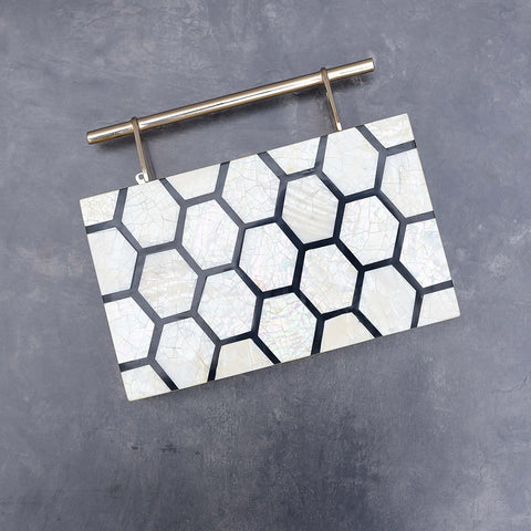 Chateau Mother of Pearl Clutch