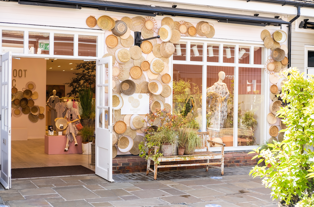Barefoot Chic at Bicester Village