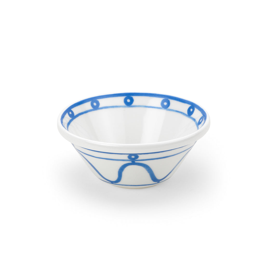 THEMIS Z - Serenity Porcelain Bowl Blue on White