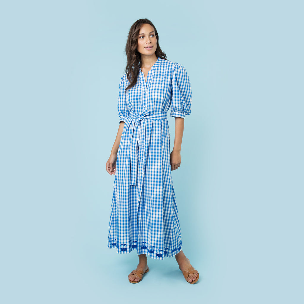 CHERRY PICKING MAXI DRESS