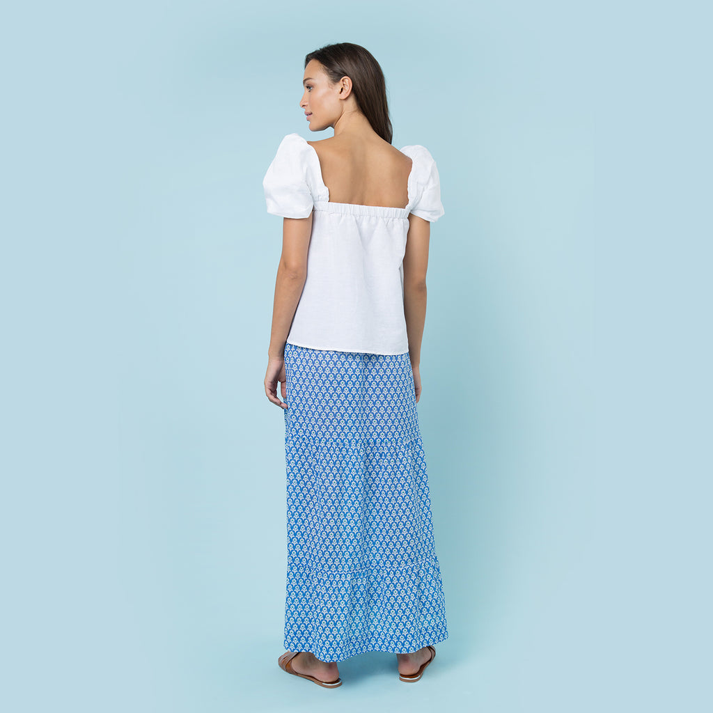 LEXI MAXI TIERED SKIRT