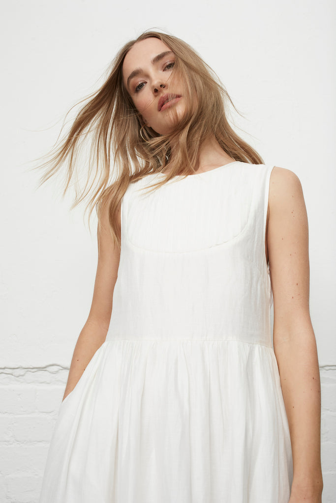 ST TROPEZ WHITE DRESS