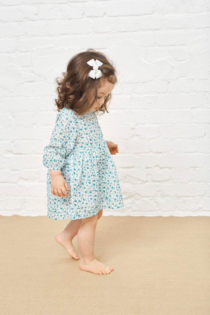 LITTLE ALL IN ONE DRESS - FORGET-ME-NOT