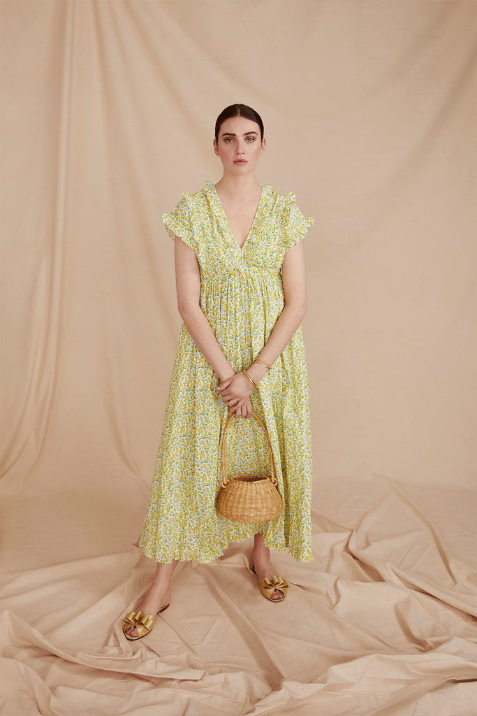 THE TERRAZZO DRESS | Buttercup Yellow