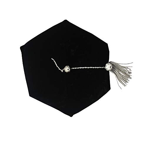 Hexagon Tam with Silver Tassel