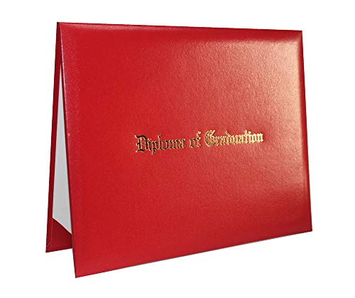 "Diploma of Graduation Embossed Certificate Cover 8 1/2"" x 11"""