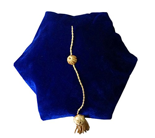 Royal Blue Doctoral Tam