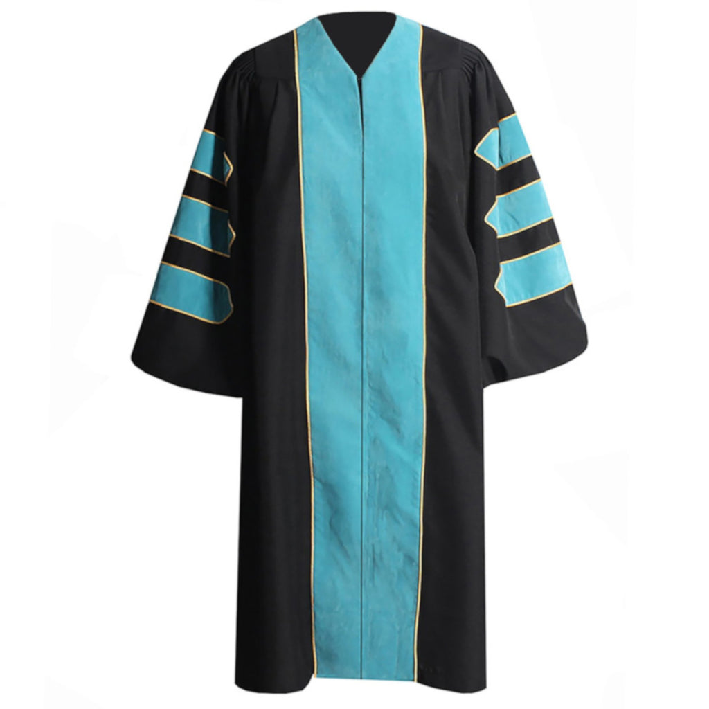 Custom Doctoral Gown 3-Bar