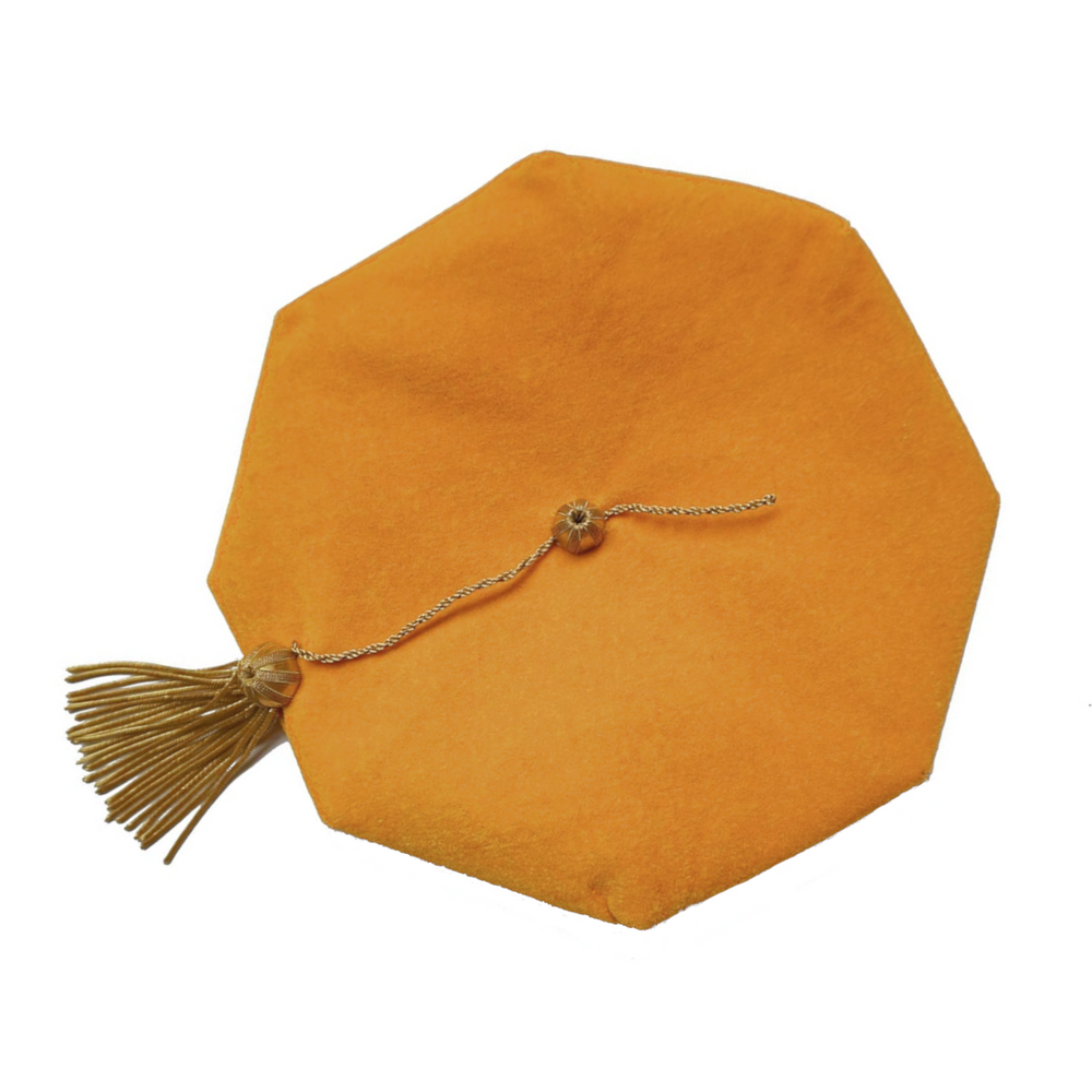 Gold Doctoral Tam