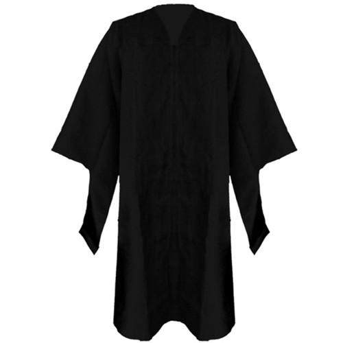 Masters Black Gown