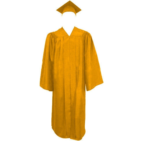 Matte Gold Graduation Cap Gown And Tassel Cap And Gown Direct
