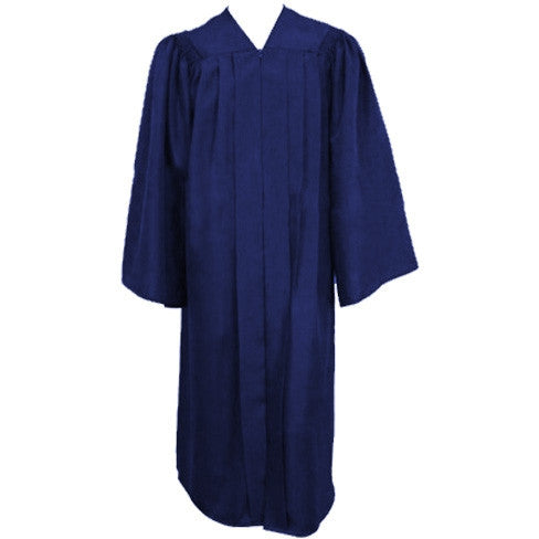 Matte Navy Choir Gown