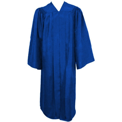 Matte Royal Choir Gown