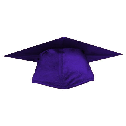 Shiny Purple Graduation Cap
