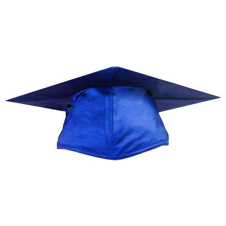 Shiny Royal Graduation Cap