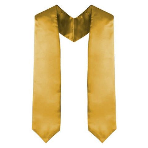Antique Gold Graduation Stole