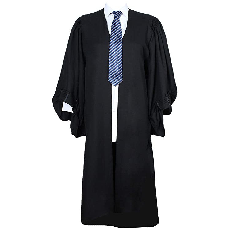 Deluxe U.K. Style Barrister Gown