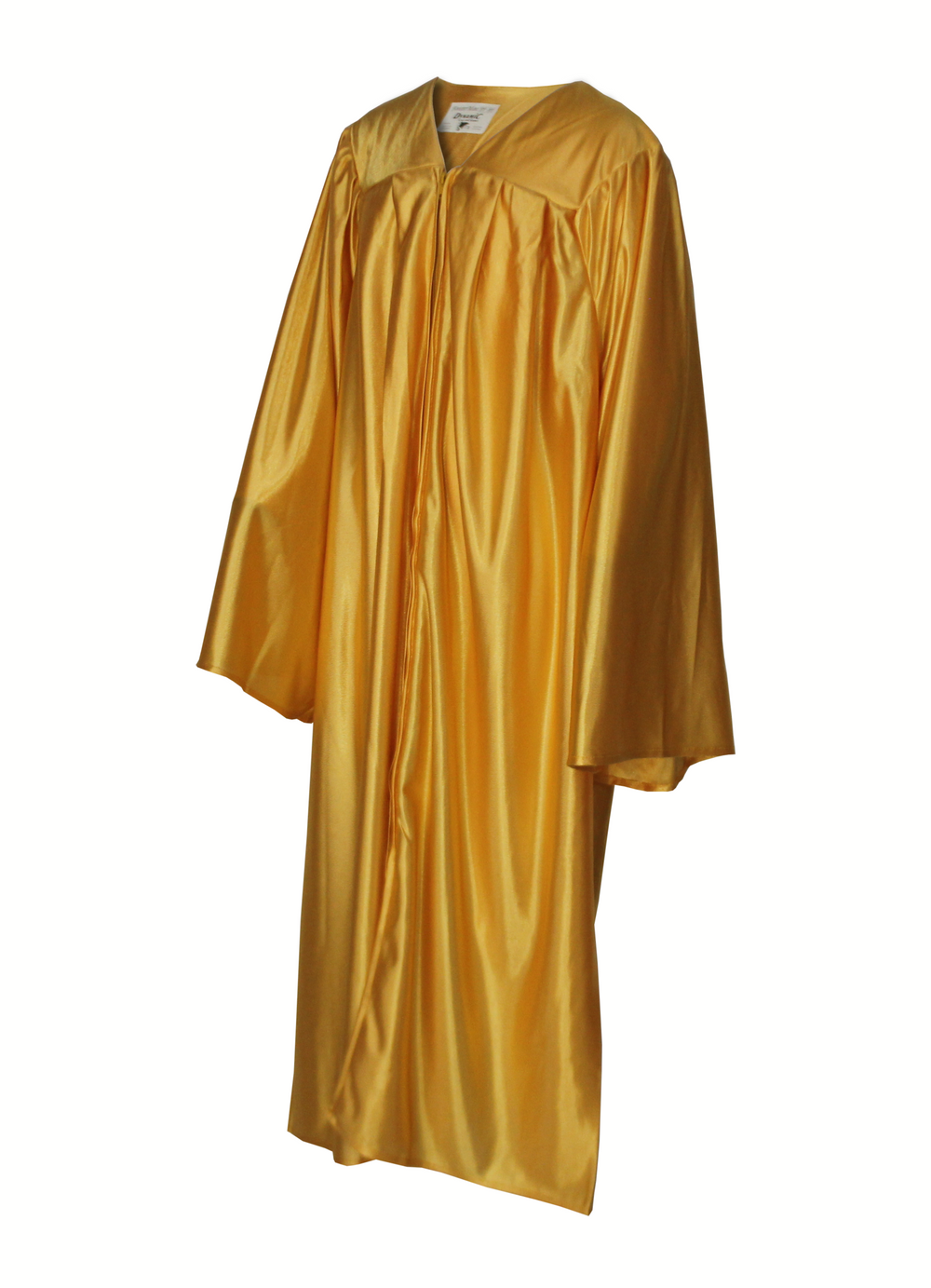 Shiny Antique Gold Choir Gown