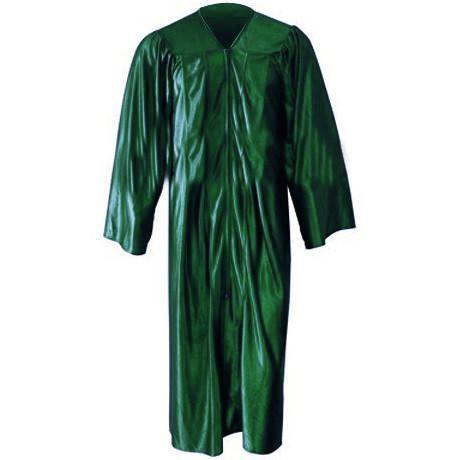 Shiny Hunter Green Gown