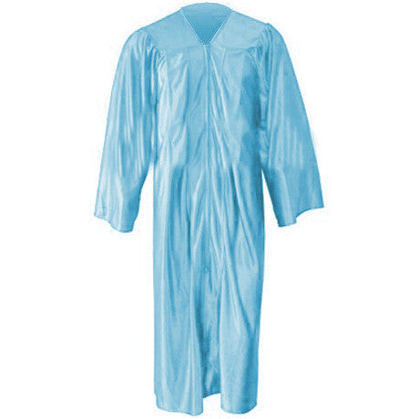 Kinder Shiny Light Blue Gown