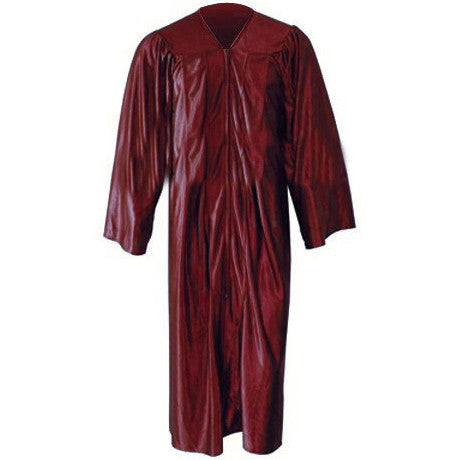 Kinder Shiny Maroon Gown