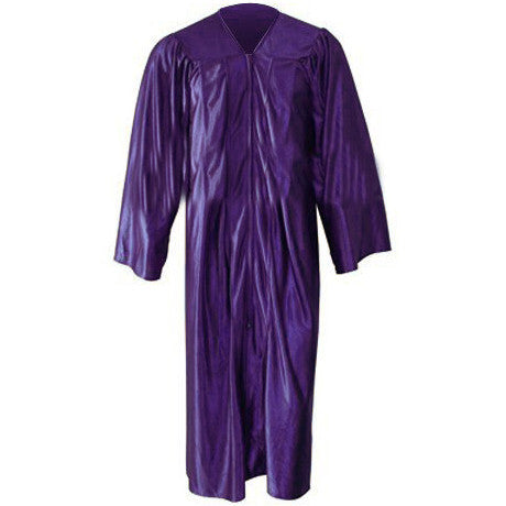 Kinder Shiny Purple Gown