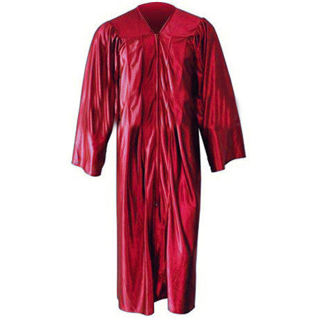 Shiny Red Choir Gown