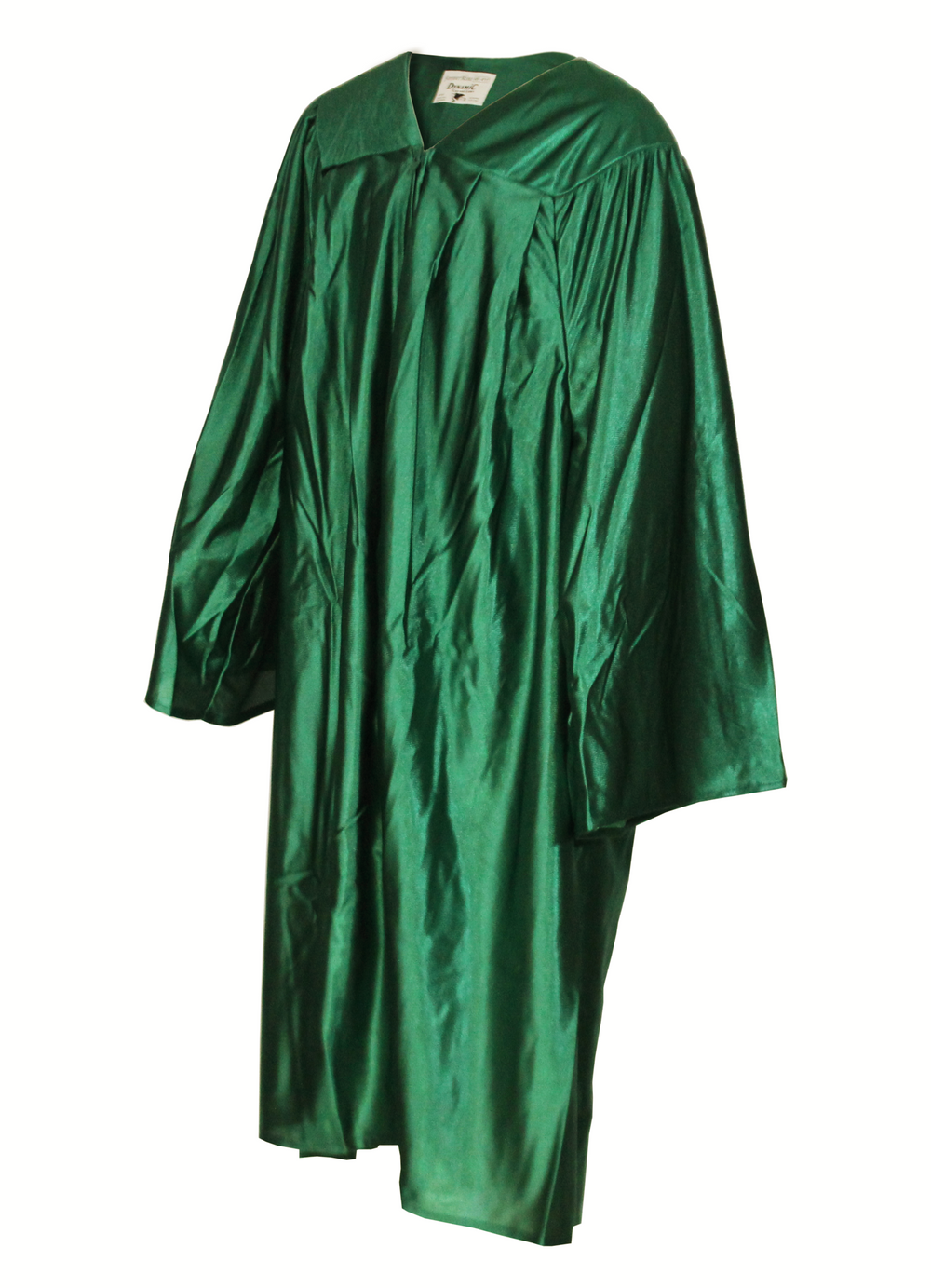 Shiny Kelly Green Choir Gown