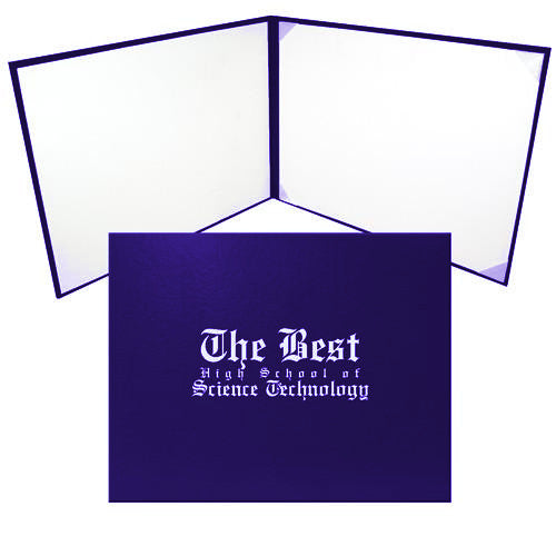 Purple Diploma Case