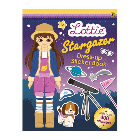 Lottie Puppen: Stargazer Dress-up Stickeralbum