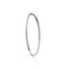 White Gold Cz 3mm Bangle TGC-BN0410