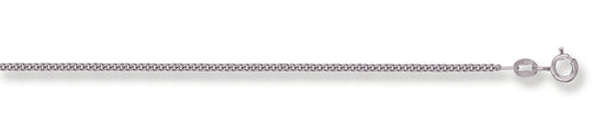 White Gold Traditional Classic Curb Chain TGC-CN0082