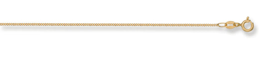 Yellow Gold Traditional Classic Curb Chain TGC-CN0083