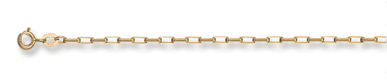 Yellow Gold Paper Link Chain TGC-CN0094-LB