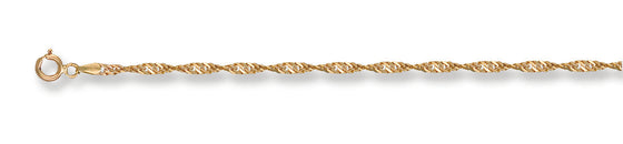 Yellow Gold Singapore Chain TGC-CN0097-LB