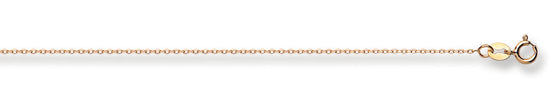 Yellow Gold Diamond Cut Trace Chain TGC-CN0510