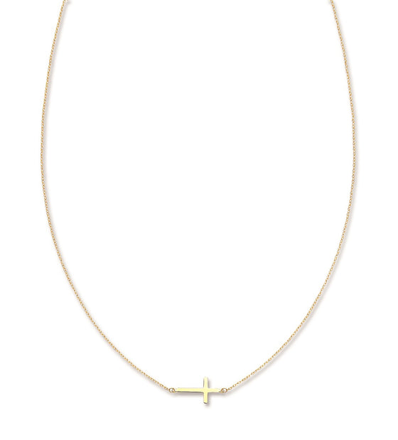 Yellow Gold Cross Chain TGC-CN0529