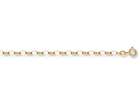 Yellow Gold Open Diamond Cut Belcher Chain TGC-CN0101-LB