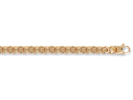 Yellow Gold Flat Byzantine Chain TGC-CN0151-GB