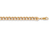 Yellow Gold Flat Curb Chain TGC-CN0381-GB