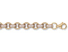 Yellow Gold Cz Belcher Chain TGC-CN0399-LB